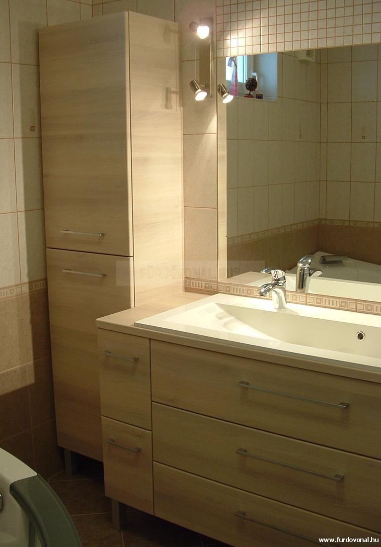 Fürdőszoba bútor, fürdőszoba szekrény, mosdószekrény, mosdó alatti ...